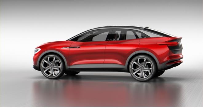 大众汽车品牌展示纯电动i.d.家族未来规划