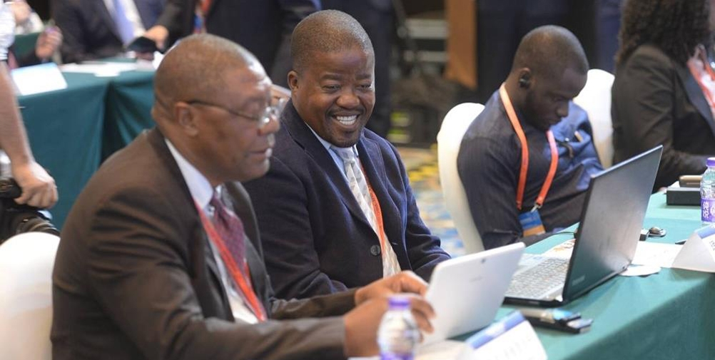 第五届中非民间论坛嘉宾交流