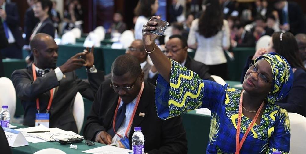 第五届中非民间论坛:参加论坛美美哒