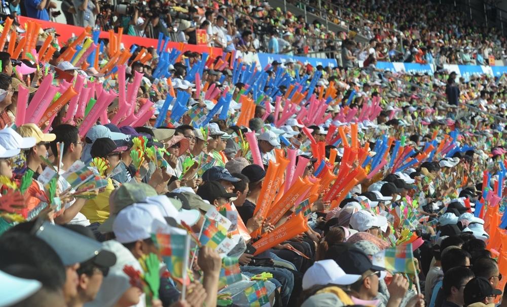 四川省第十三届运动会在广元开幕1