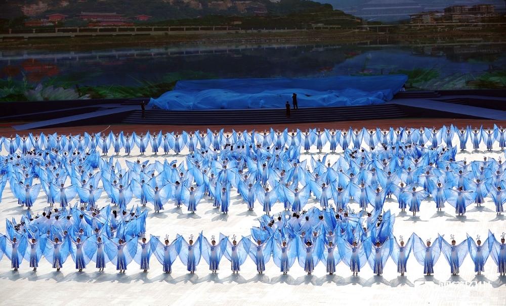 四川省第十三届运动会在广元开幕5