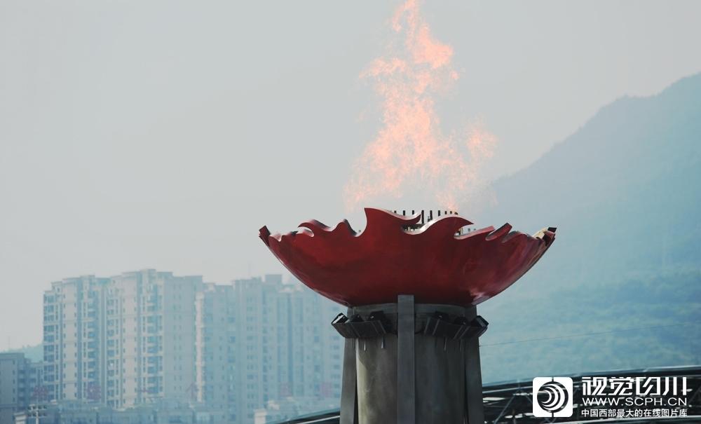 四川省第十三届运动会在广元开幕6