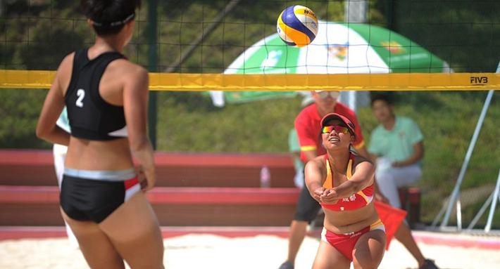省运会进行时|让我们以沙滩排球的名义约起来!